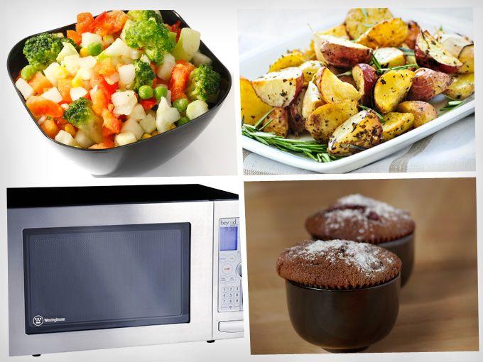 ¿Cómo cocinar en el microondas