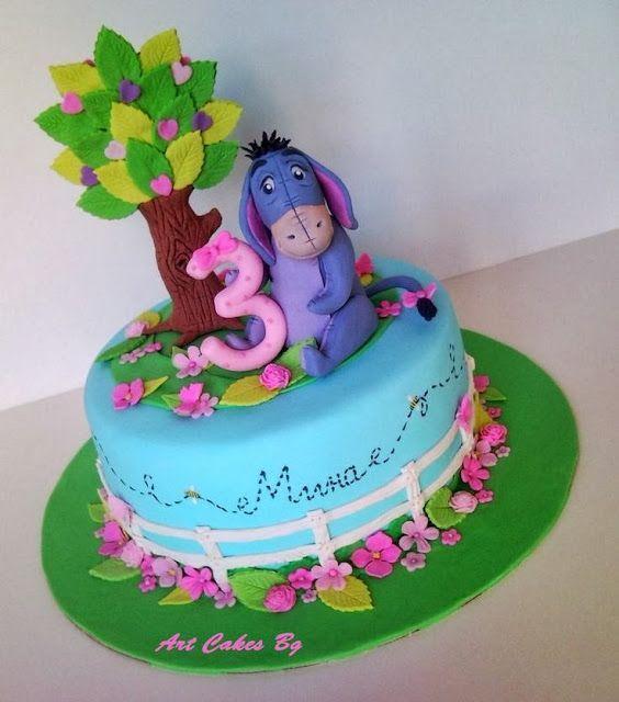 Eeyore Cake cakepins.com