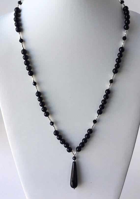"Genuine Gemstone Cross pendant Cord Necklace Silver Plated 18/"" Rose Quartz Onyx"