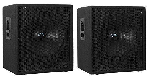 2) NEW VM Audio VAS18SUB 18″ 2000 Watt Passive Sub DJ Speaker Subwoofers (Pair)  http://www.instrumentssale.com/2-new-vm-audio-vas18sub-18-2000-watt-passive-sub-dj-speaker-subwoofers-pair/
