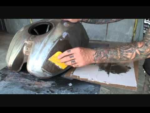 Awesome Bondo Tutorial. This guy is a genius. Shows you how to with simple hand tools to pop out dents and bondo, start to finish!