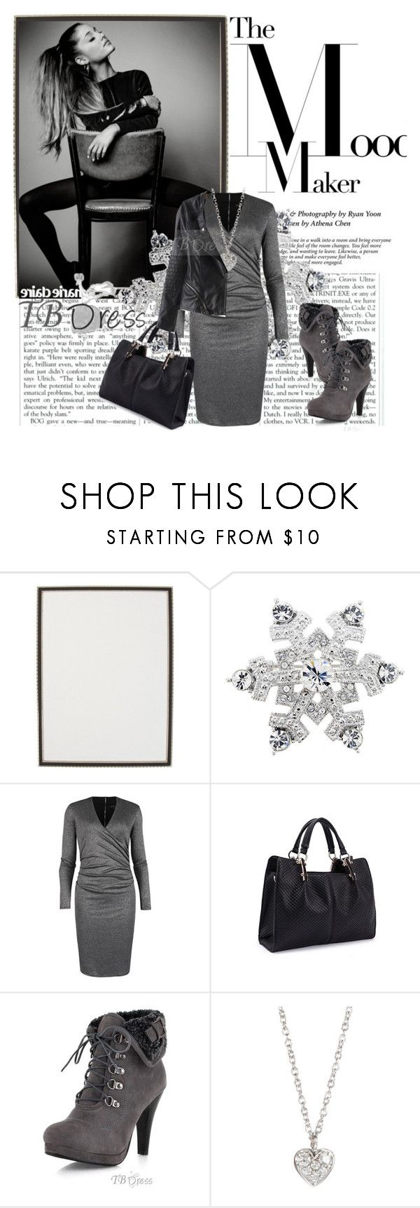 """""""TB Dress"""" by dalila-mujic ❤ liked on Polyvore featuring Haffke, Ted Baker, Finn and tbdress"""