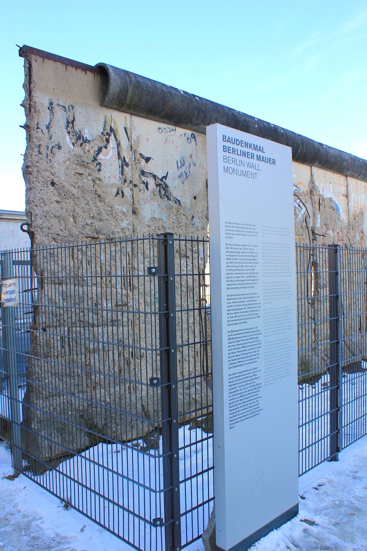 March13, 2013. One of the remanent sections of the Berlin wall. www.traveladept.com