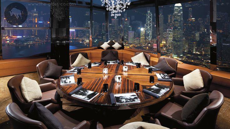 Custom Designed Show Plates For Ritz-Carlton Hong Kong! ➡ Ask Us About Custom Dinnerware at info@myglassstudio.com