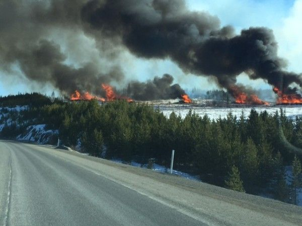 If you're travelling the Okanagan Connector, don't be alarmed if you seem plumes of thick black smoke on the horizon.  We need to STOP slash burning EVERYWHERE.