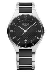 Bering Black Ceramic Collection, Titanium