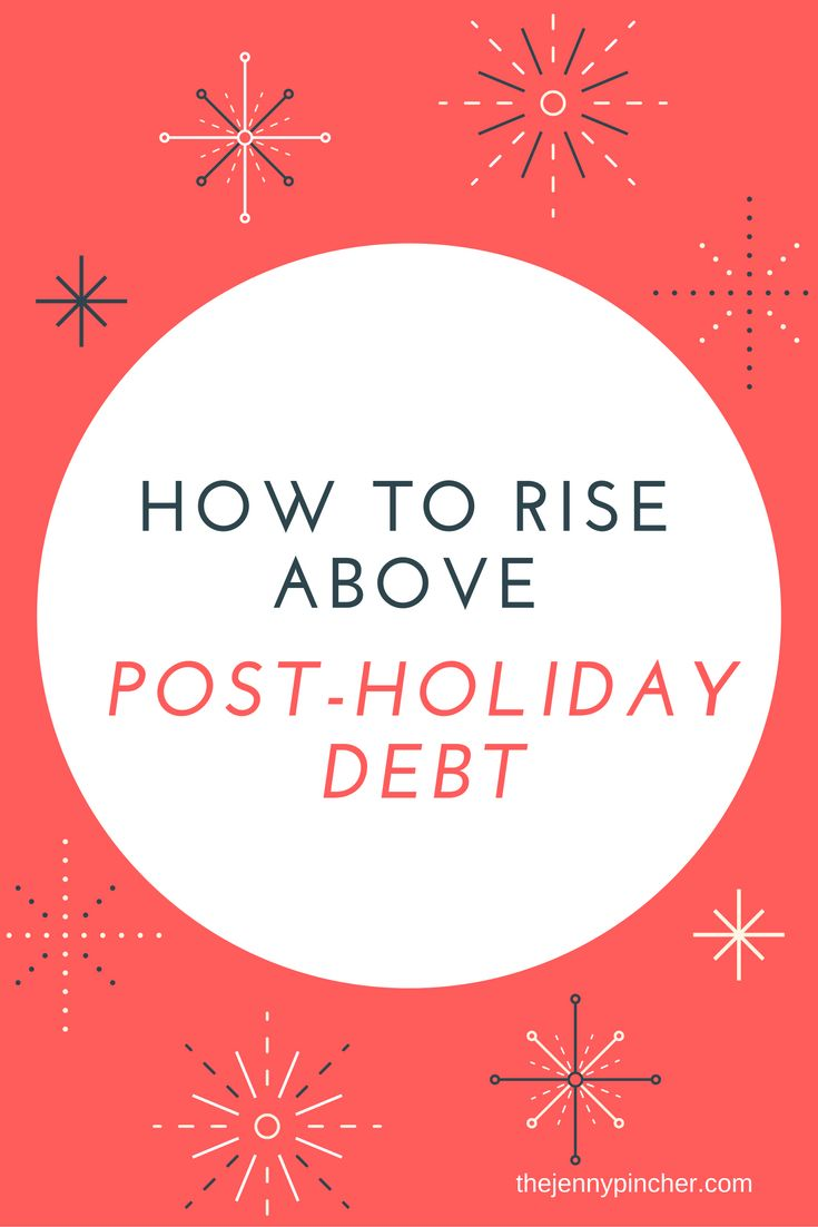 Is credit card debt a reality for for you after the holiday season? Don't let it get you down. Learn how to get ahead of your debt with a game plan. via @thejennypincher
