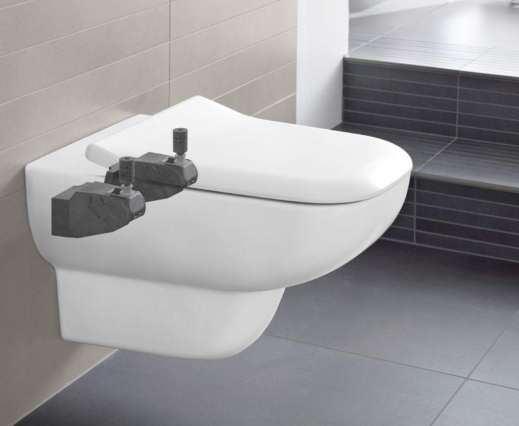 Inodoro con Suprafix #Villeroyboch #Villeroyboches #innovación #inodoros #lavabos #bañeras #platosdeducha #tendencia #Premium #viclean #washlet #inorodo-bide #inspiración #diseño #lujo #estilo #bath