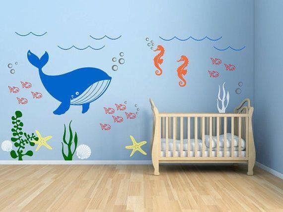 """Sleepy Time""""Ocean Theme"""" Nursery"""