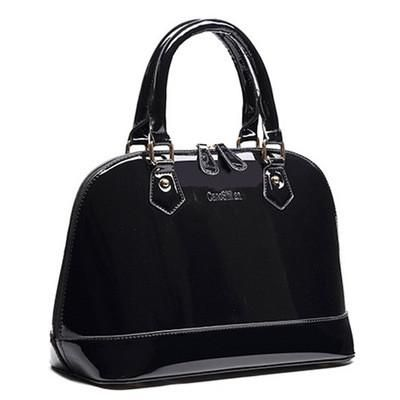 Famous brands shell bags womens Pu patent leather crossbody bags ladies luxury Shoulder bags female totes bag handbags