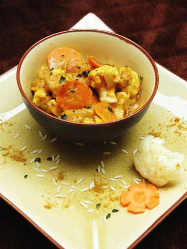 Curry de chou-fleur : Recette de Curry de chou-fleur - Marmiton