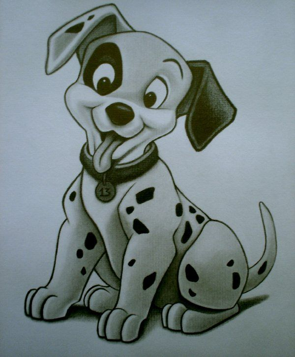 Dalmation sketch by sinsenor.