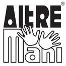 Logo altremani sinonimo di qualità e responabilità sociale. (The Altremani logo signifies quality and social responsibility.)