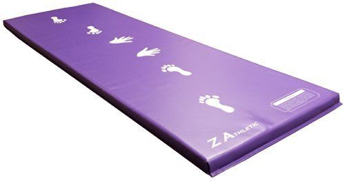Z-Athletic Purple Children's Gymnastics Cartwheel / Beam Training Mat