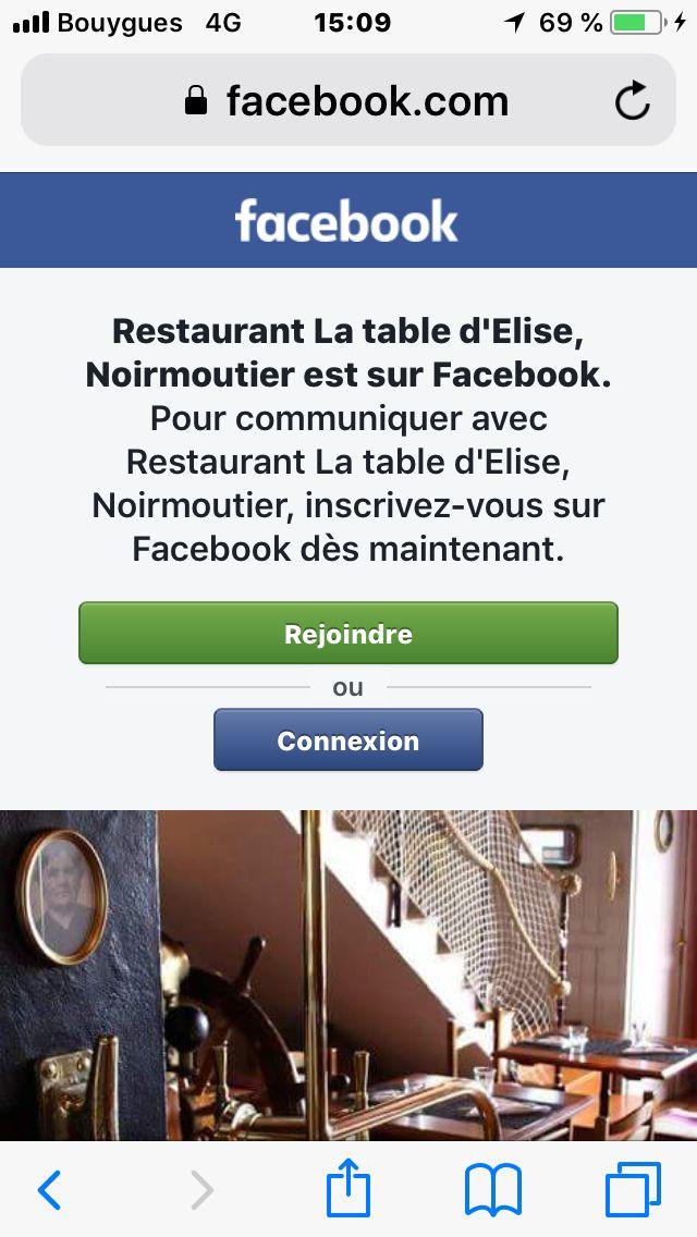 La Table D Elise Noirmoutiers Pinterest