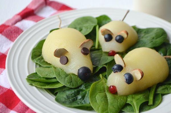 Postres fáciles con fruta. Recetas para niños