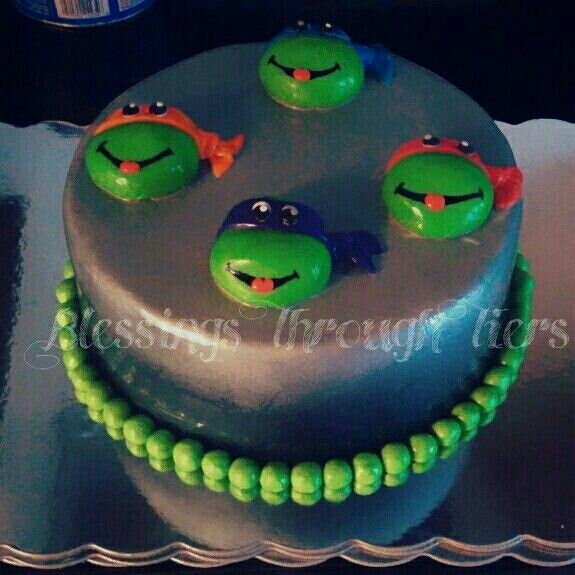 Ninja Turtle Birthday Cakes Pinterest