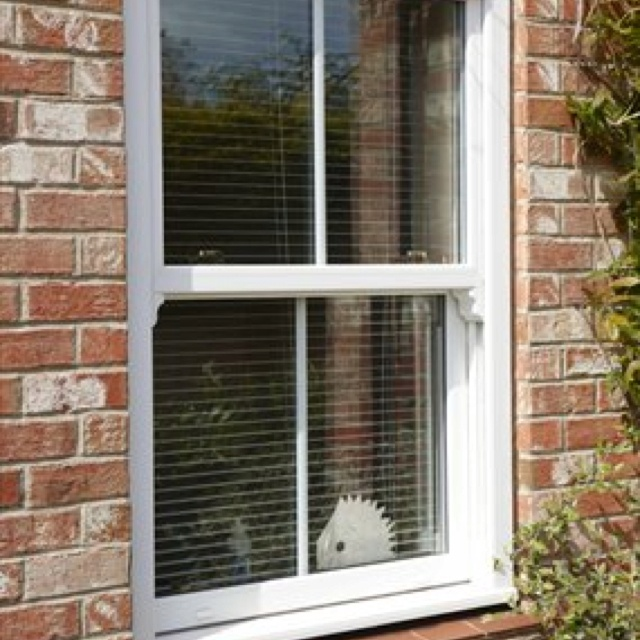 PVC sash windows?