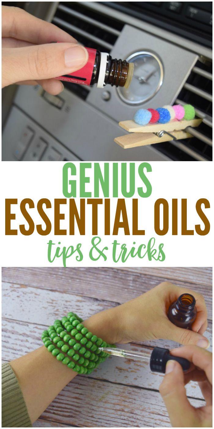 Genius essential oils tips and tricks you'll appreciate.
