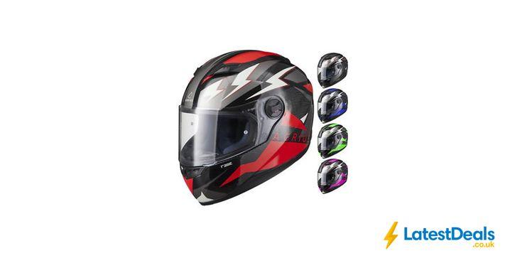 Agrius Rage Voltage Full Face Motorcycle Helmet at Ghostbikes/ebay, £23.99