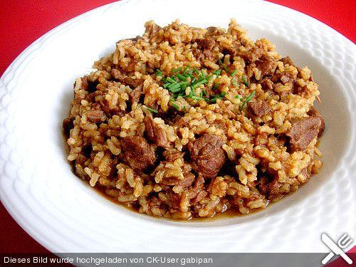 Reisfleisch, ein sehr leckeres Rezept aus der Kategorie Eintopf. Bewertungen: 43. Durchschnitt: Ø 4,1., ap