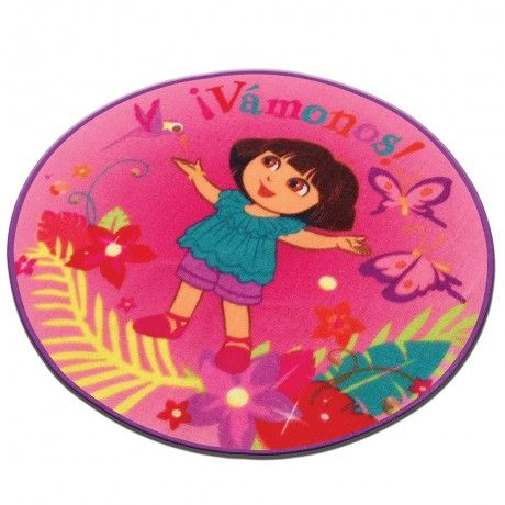 Tapete Dora. #Dora #Recamara #Cuarto #Decoracion #Colchas #Intima #Cobertor #Ideas #IntimaHogar