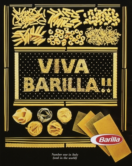 Barilla ad from 1984