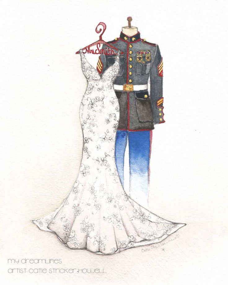54 Best Images About Wedding Dress Sketches On Pinterest