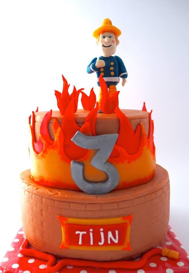 Brandweerman Sam taart/fireman Sam cake