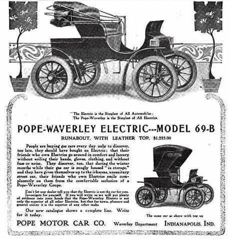 Best Waverly Electric Car Ads Images On Pinterest Electric