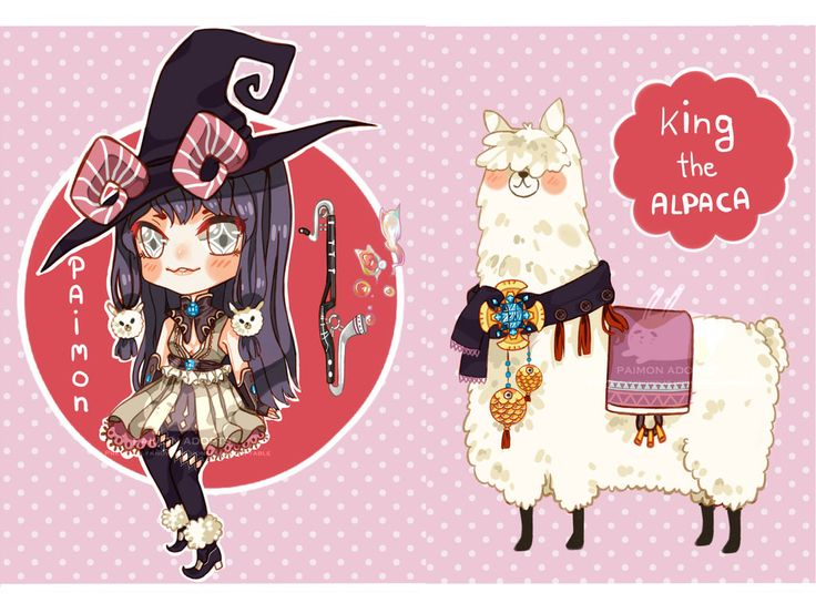 Mascot: Paimon and King by paimon-adopts on DeviantArt