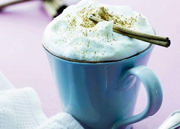 Mette Blomsterberg - opskrift på varm chokolade
