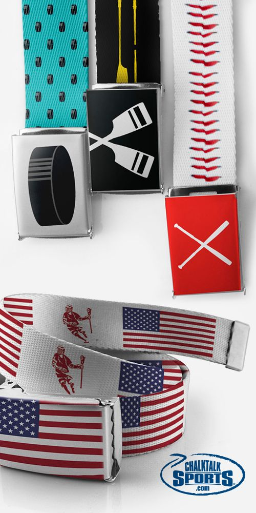 Great looking belts for every sport! Choose your sport, select your color, add personalization. Perfect team gift! Available in all sports in including lots of crew options. #rowing