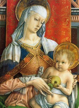 Carlo Crivelli (Italian, Venice,1435-1495) ~ Madonna and Child ~ AT