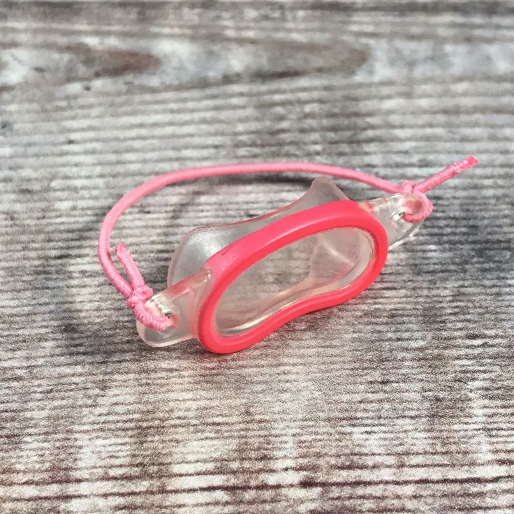 Sylvanian Families Spares Accessories | Pink Swimming Snorkel Mask Googles #SylvanianFamilies