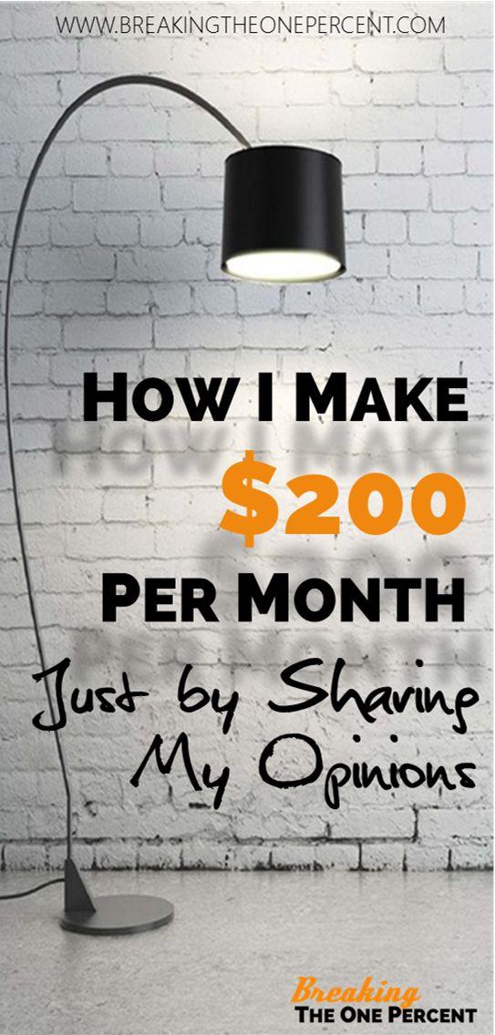 Make Money with Online Surveys | Make Money from Home | Side Hustle Ideas | Best Survey Sites | Earn Money Online
