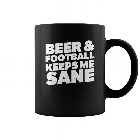 Beer And Football Keeps Me Sane Funny Coffee Mug #name #tshirts #SANE #gift #ideas #Popular #Everything #Videos #Shop #Animals #pets #Architecture #Art #Cars #motorcycles #Celebrities #DIY #crafts #Design #Education #Entertainment #Food #drink #Gardening #Geek #Hair #beauty #Health #fitness #History #Holidays #events #Home decor #Humor #Illustrations #posters #Kids #parenting #Men #Outdoors #Photography #Products #Quotes #Science #nature #Sports #Tattoos #Technology #Travel #Weddings #Women