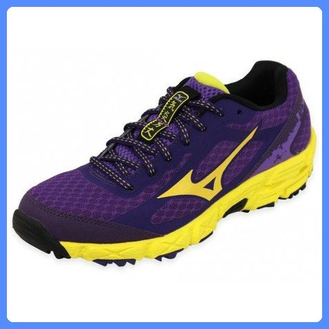 Mizuno SS15 Womens Wave Kien Trail Running Shoes - US 7.5 - Purple