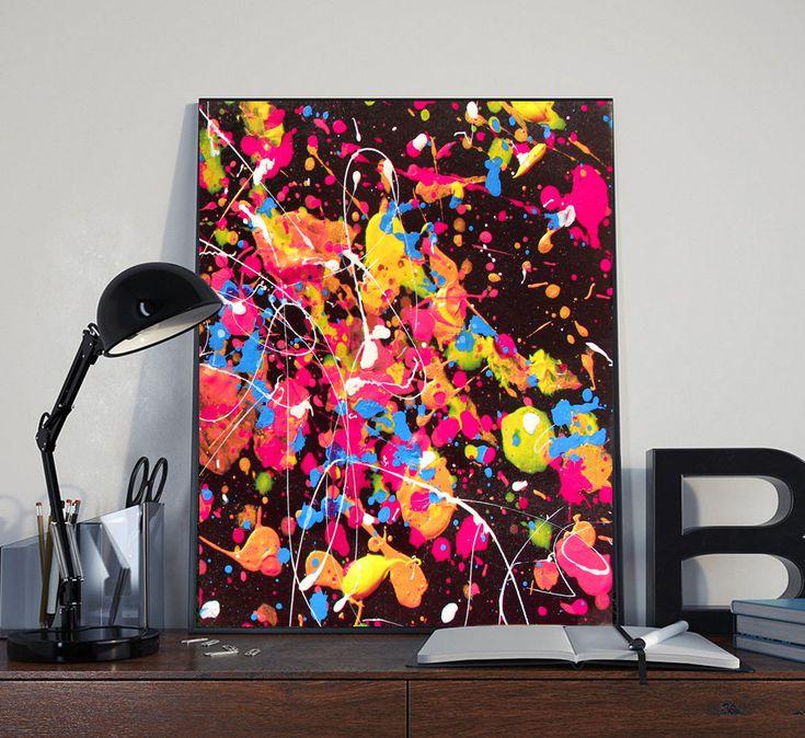 #Colorful #WallArt #Rainbow #Print #AbstractPainting #Printable #Abstract #Rainbow #Splash #AbstractArt #PrintableWallArt #homedecorideas #Printable #Watercolor #HomeDecor #AbstractPainting #Nursery #Decor #A4 #Print