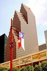 Bank of America Center, Houston, Texas -- designed by Philip Johnson