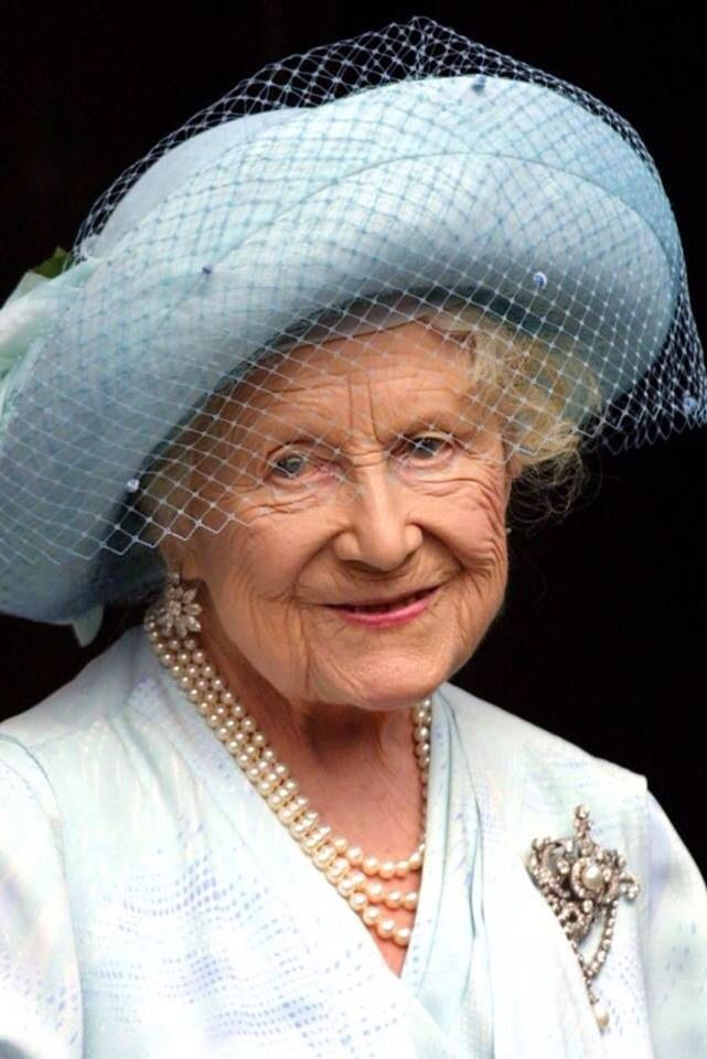 The Queen Mother, what a wonderful lady she was and such a lovely smile: a national treasure.