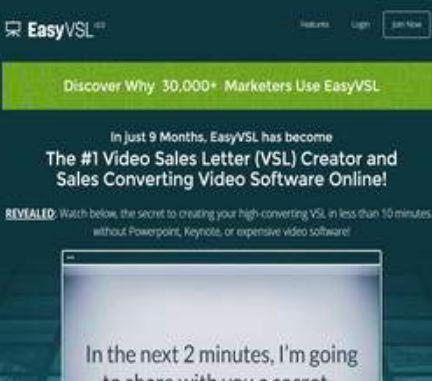 EasyVSL Reviews - 1 Reviews & Comments (2017 Update)