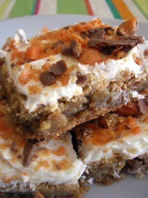Butterfinger Brownie: Butterf Brownies, Brown Sugar, Butterf Blondi, Recipe, Sweet Tooth, Butterfinger Blondies, Six Sisters Stuff, Butterfinger Brownie, Butterfinger Bar