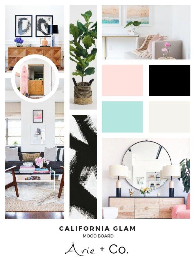 California Glam West Coast Glam Interior Design Style Files