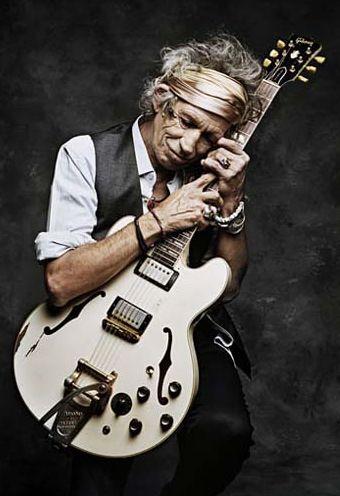 Keith Richards by Francesco Carrozzini New York 2008