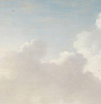 панно небесного цвета 358120 Eijffinger для райской спальни