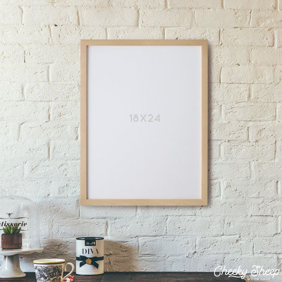 18x24 poster frame no glass 18 x 24 unfinished wood poster frame art frame photo frame large poster frame large format frame