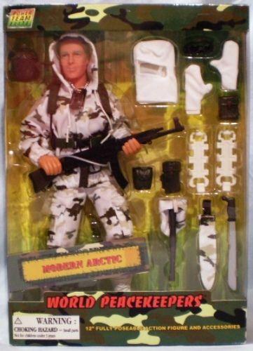 Power Team Elite World Peacekeepers Modern Arctic Figure & Accessories NIB