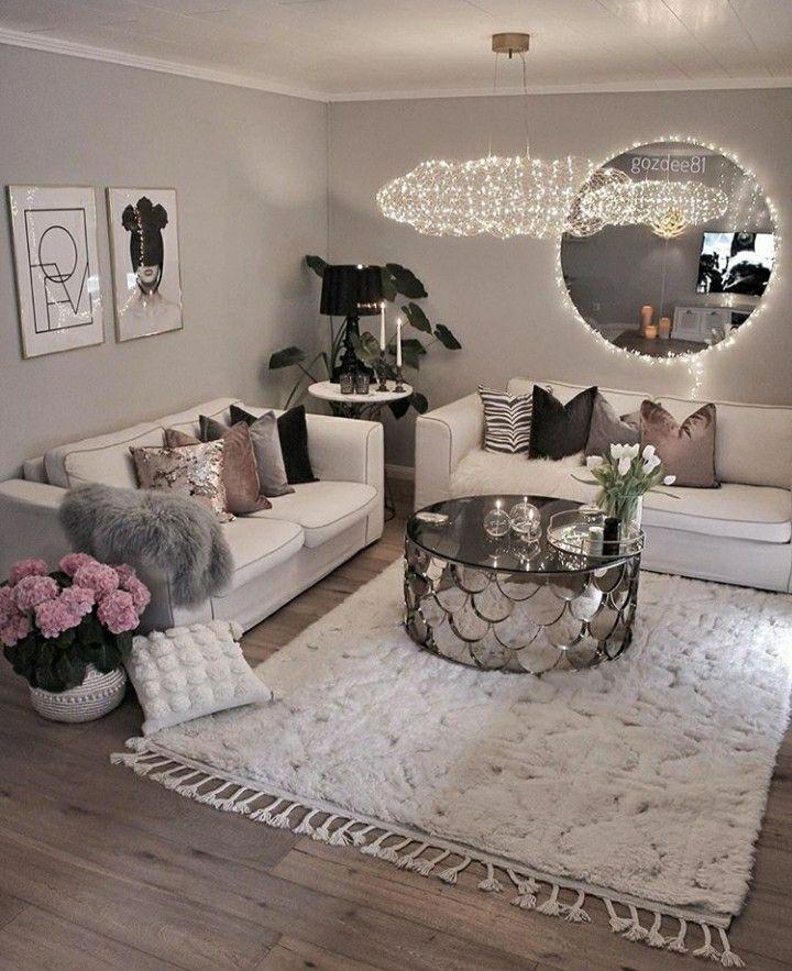 Pin By Syeℓma ۦ On ديكور Home Design Home Decor Modern Rustic Living Room Elegant Living Room