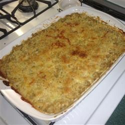 Chef Johns Macaroni and Cheese Recipe - bread crumb crust is said to be delicious.